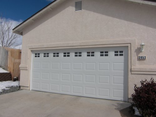 Advanced garage doors residential garage door for 16x7 garage door with windows